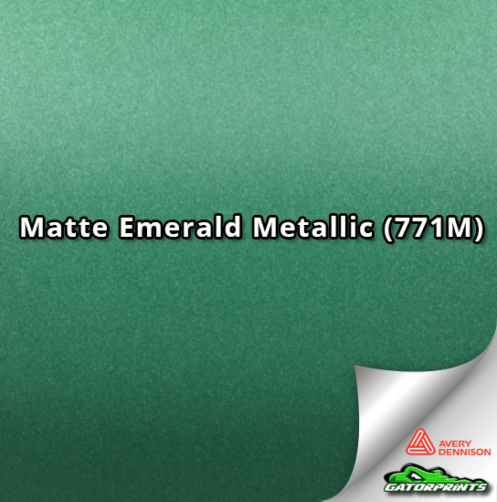 Matte Emerald Metallic (771M)