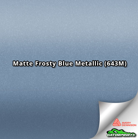 Matte Frosty Blue Metallic (643M)