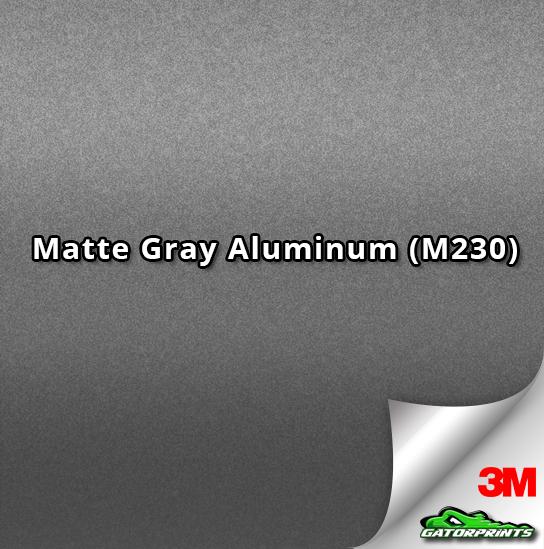 3M 1080 Matte Gray Aluminum (M230)