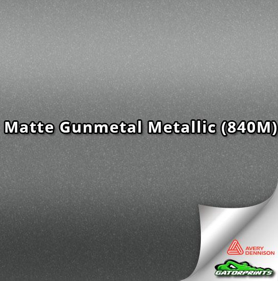 Matte Gunmetal Metallic (840M)