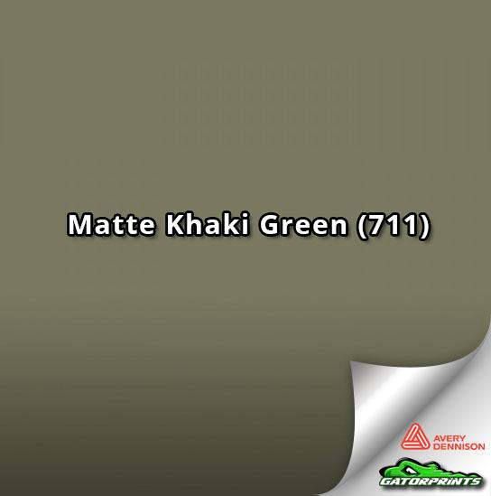 60 Quot Avery Dennison Matte Khaki Green 711 Gatorprints