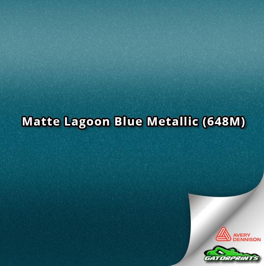 Matte Lagoon Blue Metallic (648M)