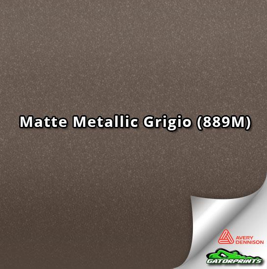 Matte Metallic Grigio (889M)