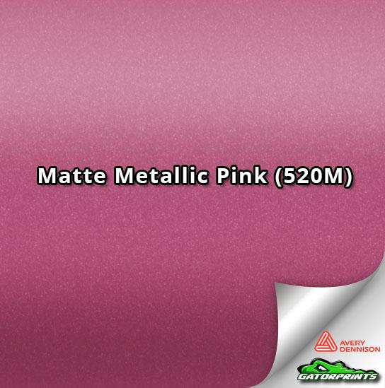 Matte Metallic Pink (520M)
