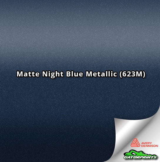 Matte Night Blue Metallic (623M)