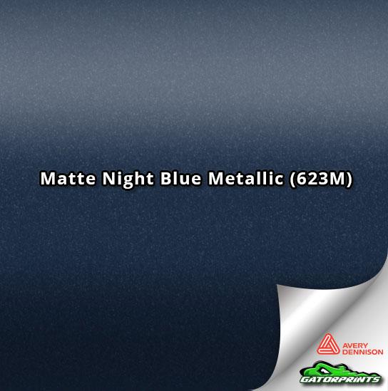 Matte Night Blue Metallic (623M)