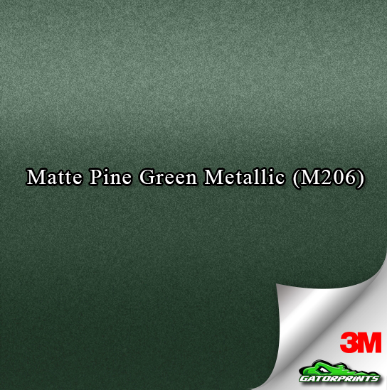 Matte Pine Green Metallic (M206)