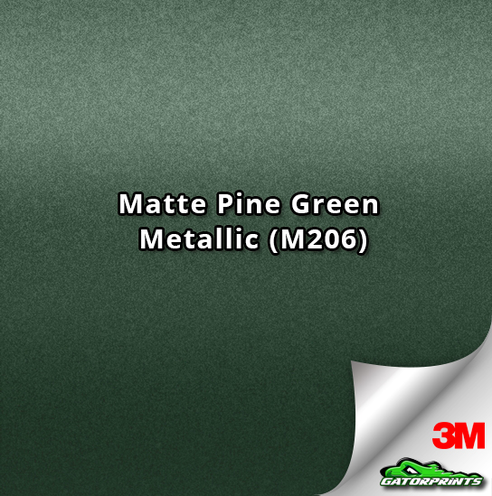 3M 1080 Matte Pine Green Metallic (M206)
