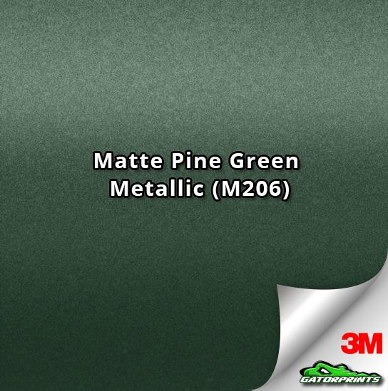 3M 1080 Matte Pine Green Metallic (M206)