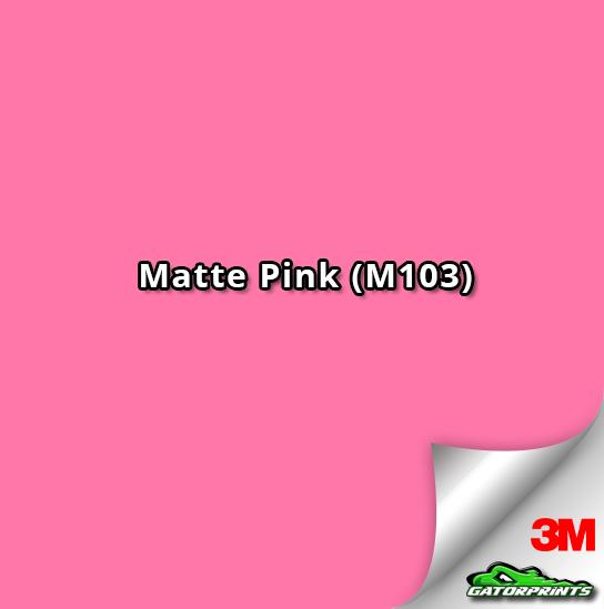 3M 1080 Matte Pink (M103)