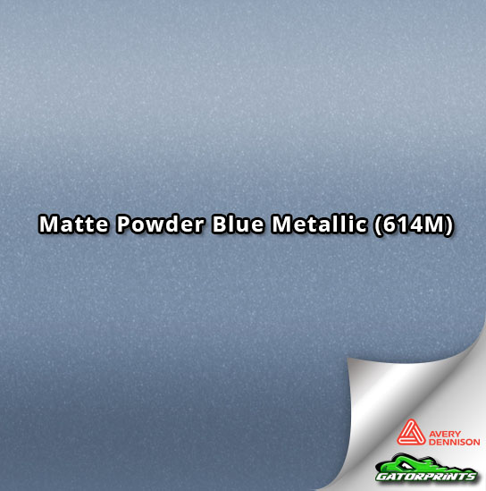 Matte Powder Blue Metallic (614M)