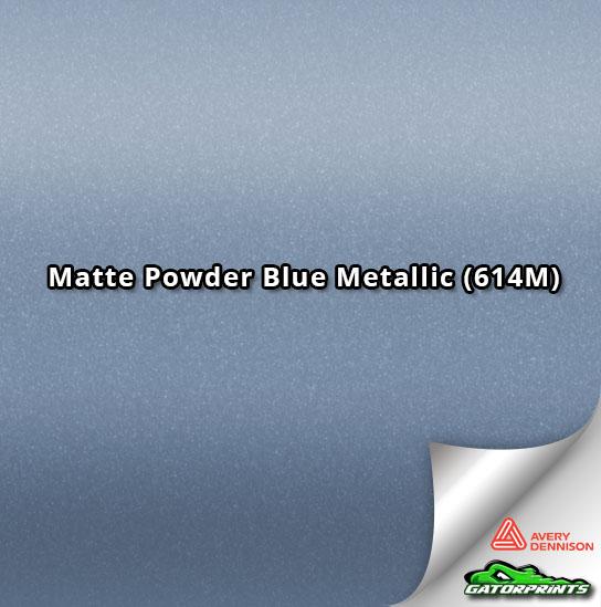 Matte Powder Blue Metallic (614M)