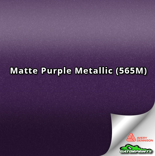 Matte Purple Metallic (565M)