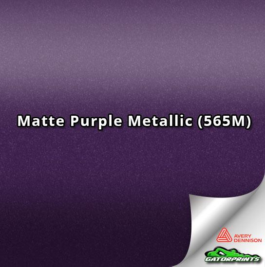 Matte Purple Metallic (565M)