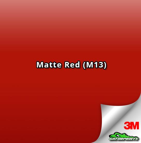 3M 1080 Matte Red (M13)