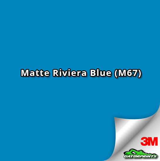 3M 1080 Matte Riviera Blue (M67)