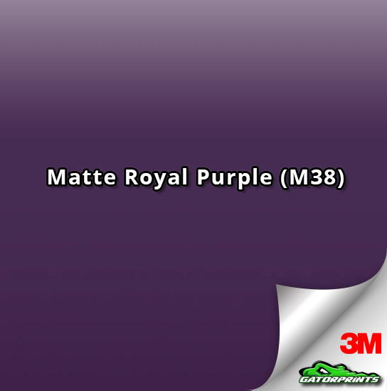 3M 1080 Matte Royal Purple (M38)