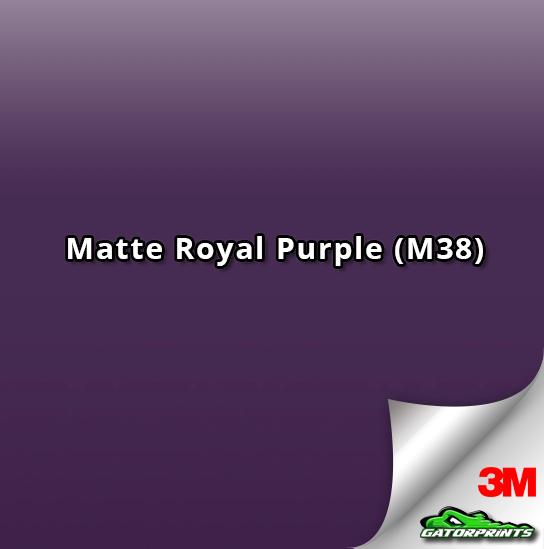3M 1080 Matte Royal Purple (M38)