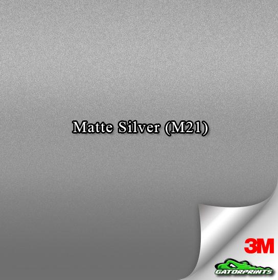 Matte Silver (M21)