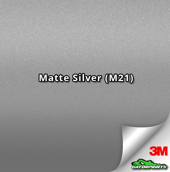 3M 1080 Matte Silver (M21)