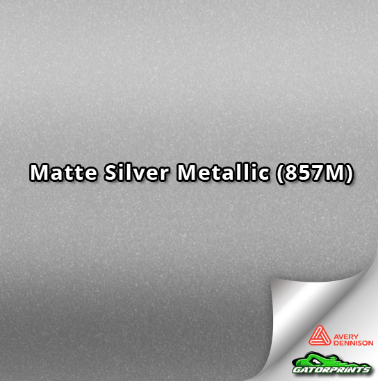 Matte Silver Metallic (857M)