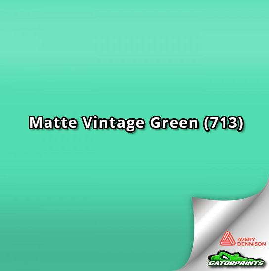Matte Vintage Green (713)