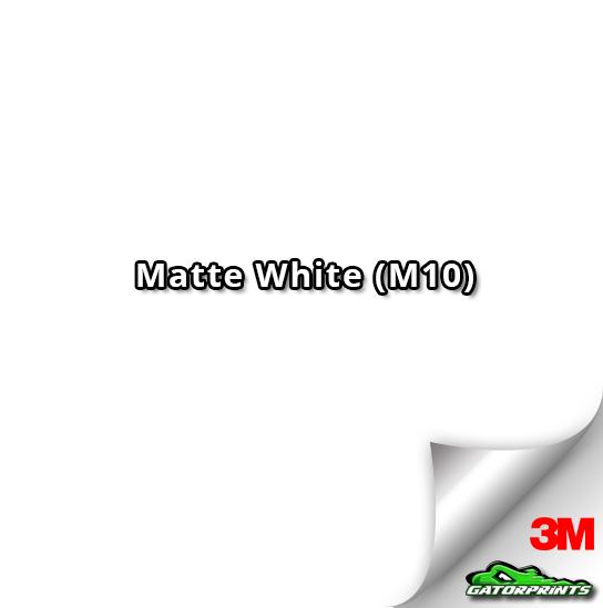 3M 1080 Matte White (M10)