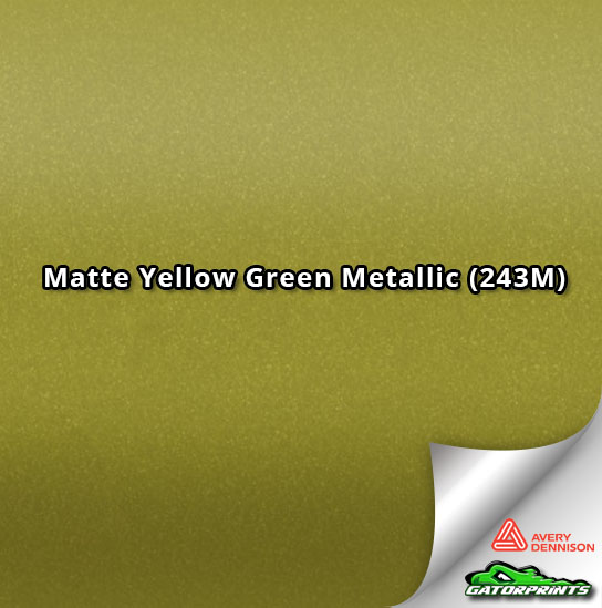 Matte Yellow Green Metallic (243M)