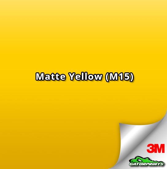 3M 1080 Matte Yellow (M15)