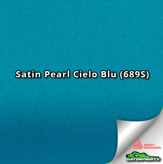 Satin Pearl Cielo Blu (689S)