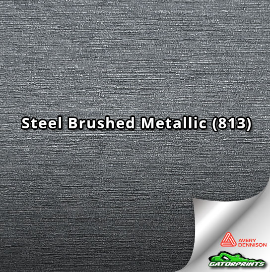 Steel Brushed Metallic (813)