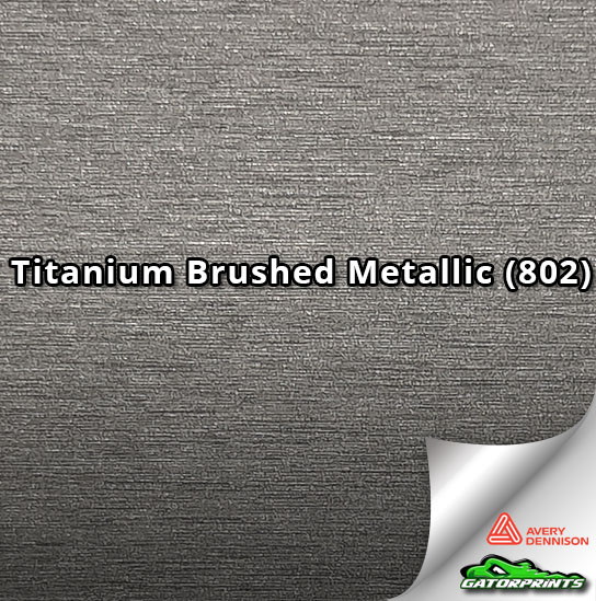 Titanium Brushed Metallic (802)