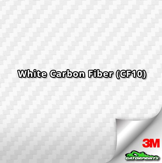 White Carbon Fiber (CF10)