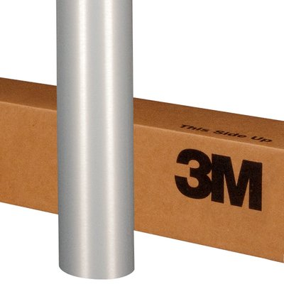 3M Wrap Film 1080-BR120 Brushed Aluminum