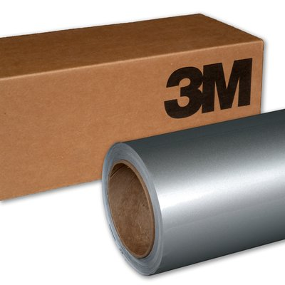 3M Wrap Film 1080-G120 Gloss White Aluminum