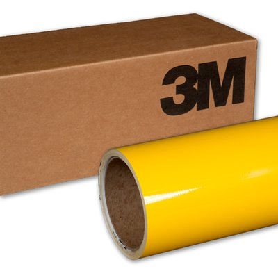 3M Wrap Film 1080-G15 Gloss Bright Yellow