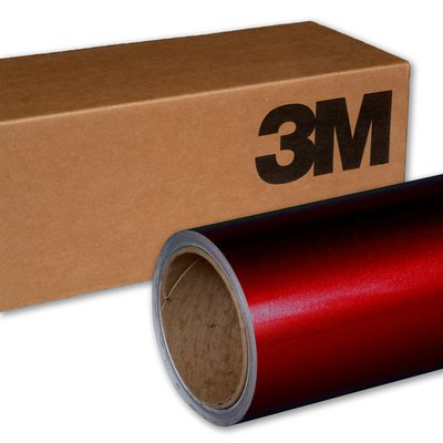 3M Wrap Film 1080-G203 Gloss Red Metallic