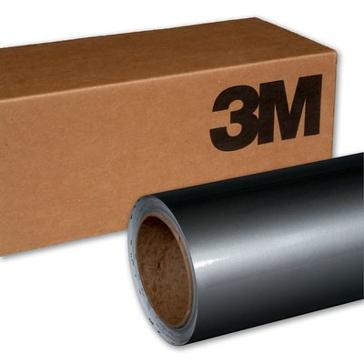 3M Wrap Film 1080-G251 Gloss Sterling Silver