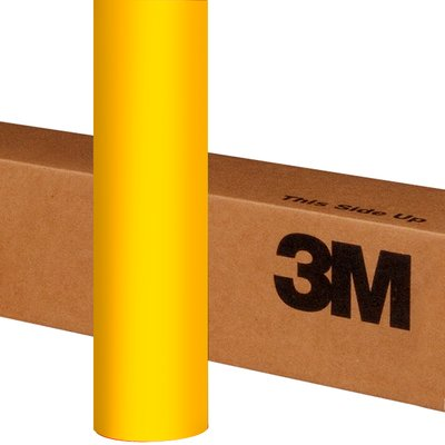 3M Wrap Film 1080-M15 Matte Yellow