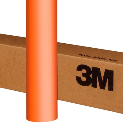 3M Wrap Film 1080-M54 Matte Orange