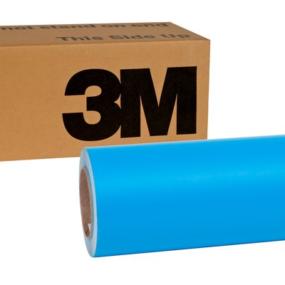 3M Wrap Film Series 1080-M67 Matte Riviera Blue